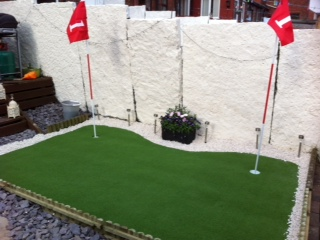 Golf Putting Artificial Grass